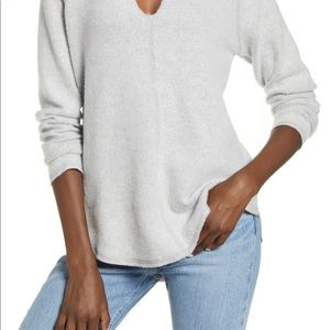 Solcialite Grey Long Sleeve Sweater